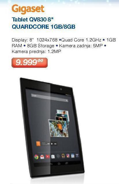 "Tablet QV830 8"""