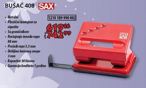 Bušač Listova 408 Sax