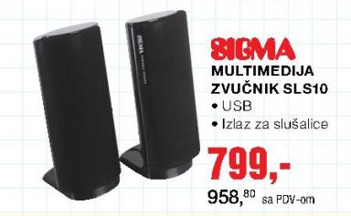 Zvučnik SLS10