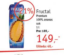 Sok ananas
