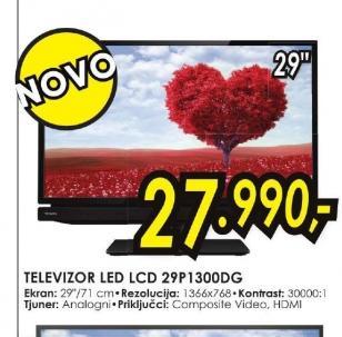 Televizor LED LCD 29P1300DG