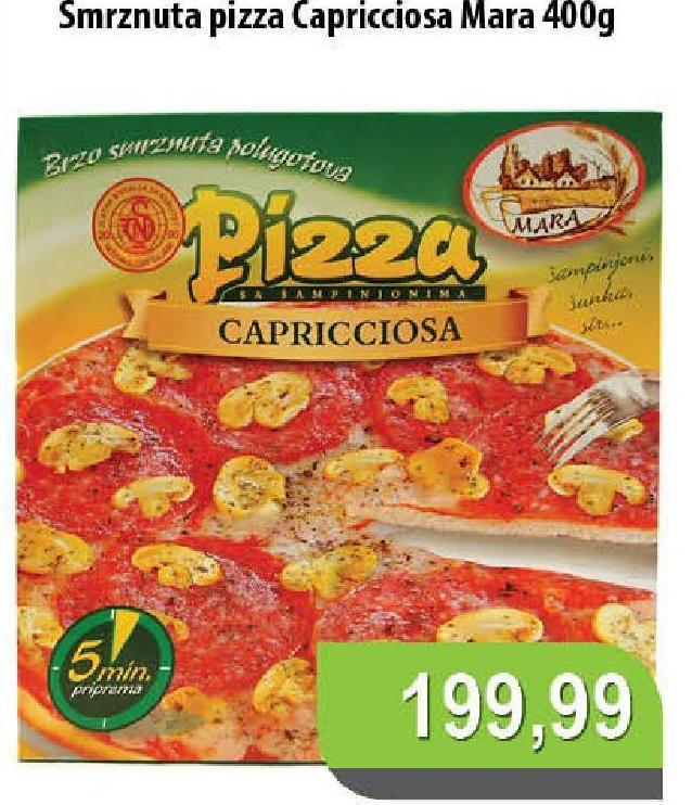 Smrznuta pizza capricciosa