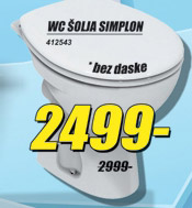 WC šolja Simplon