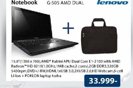 Laptop G505