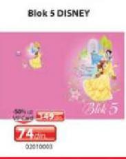 Blok 5 Disney