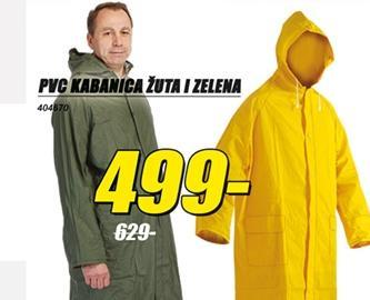 Kabanica PVC