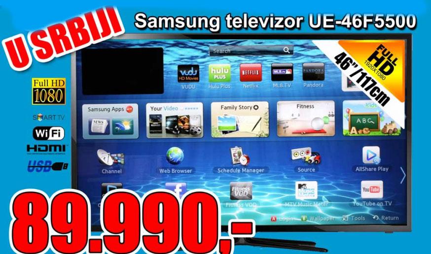 LED Televizor UE-46F5500