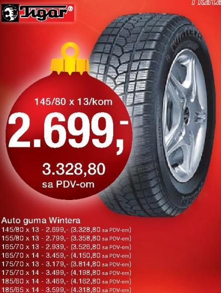 Auto guma Wintera 185/60x14