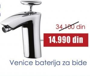 Baterija za bide Venice