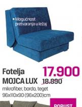 Fotelja Mojica lux
