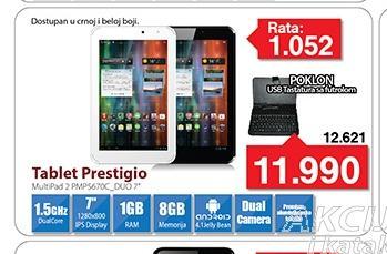 "Tablet MultiPad PMP5670C_BK_DUO 7"""