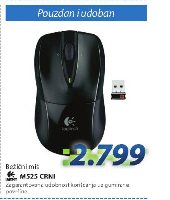 Bežični miš M525