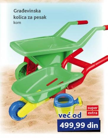 Igračka Građevinska kolica