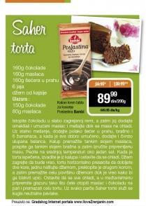 Recept - Saher torta