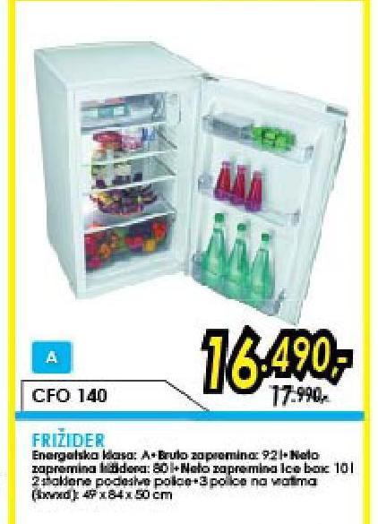 Frižider CFO 140