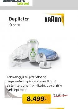 Depilator SE5580GREEN