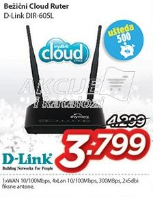 Bežični Cloud ruter Dir-605l D-Link