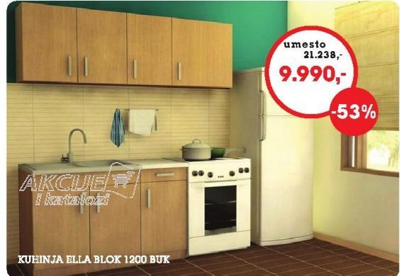 Kuhinja Ella Blok  1200 BUK