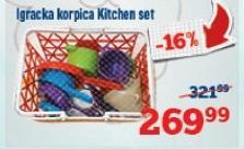 Igračka korpica kitchen