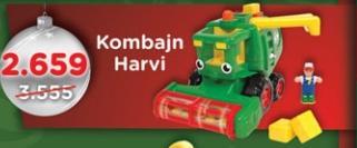Igračka Kombajn Harvi Wow