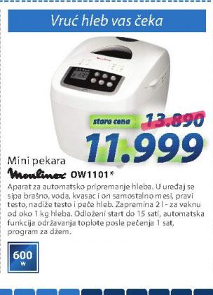Aparat za pečenje hleba OW1101