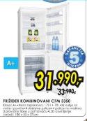 Frižider kombinovani CFM 3350