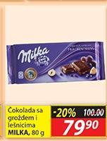 Čokolada suvo grožđe i lešnik