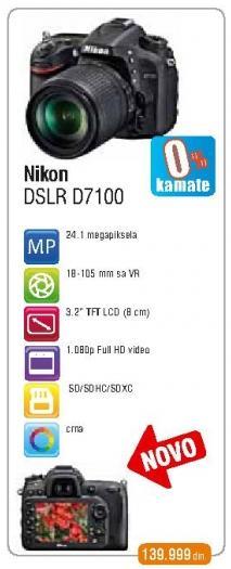 Digitalni fotoaparat DSLR D7100