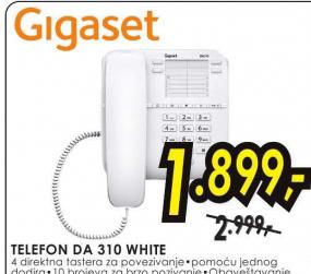 Telefon DA 310 WHITE