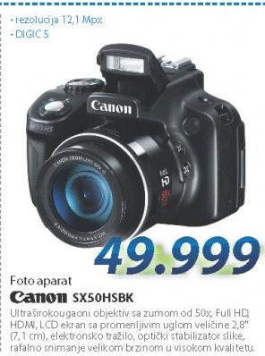 Fotoaparat SX50HSBK
