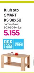 Klub sto SMART KS 90x50