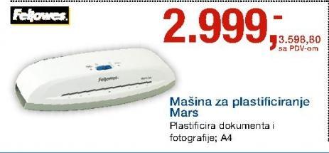 Mašina Za plastificiranje Mars