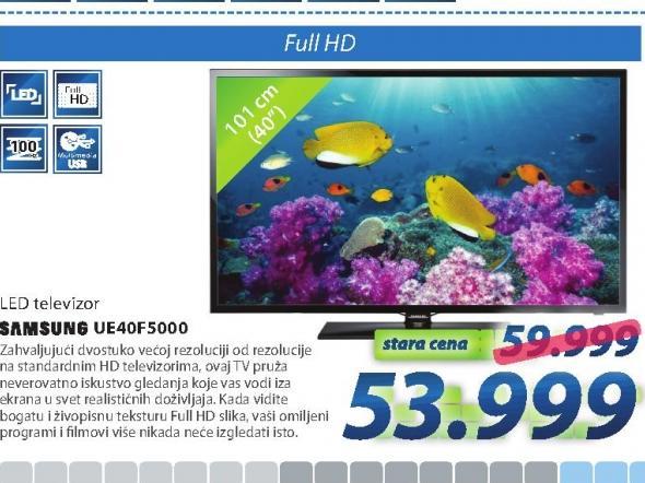 "Televizor  LED 40""UE40F5000"