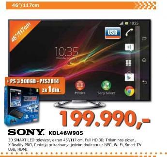 Televizor LED KDL46W905