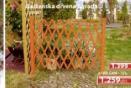 Baštenska drvena ograda