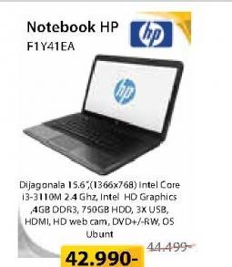 Notebook F1Y41EA