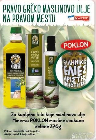 Pravo grčko maslinovo ulje na pravom mestu