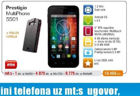 Mobilni telefon  5501 Blue