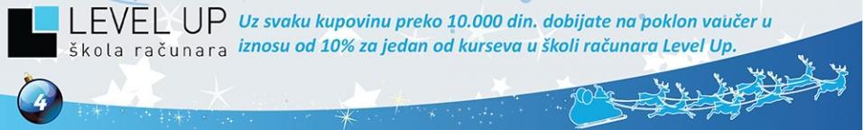 Za kupovinu preko 10.000 din. poklon vaučer
