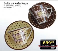 Šolje za kafu Kupa