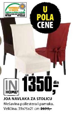 Navlaka za stolicu Joa