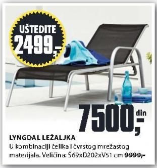 Ležaljka Lyngdal