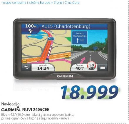 Navigacija Garmin Nuvi 2450CE