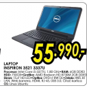 Laptop Inspiron 3521 3337U