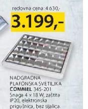 Plafonska svetiljka Commel 345 201