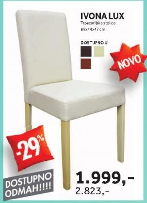 Stolica Ivona Lux