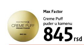 Puder Creme Puff
