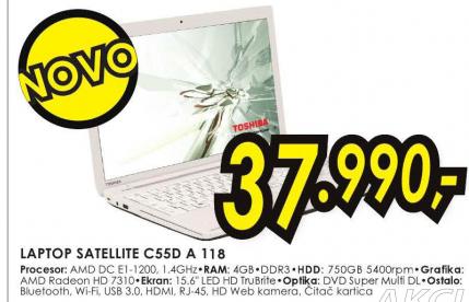 Laptop Satellite C55D-A-118