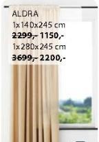Zavesa Aldra 1x280x245cm