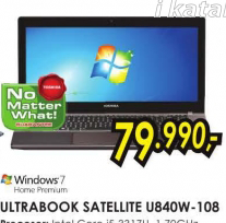 Laptop Ultrabook Satellite U840W-108